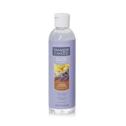 lemon lavender gel hand sanitizer