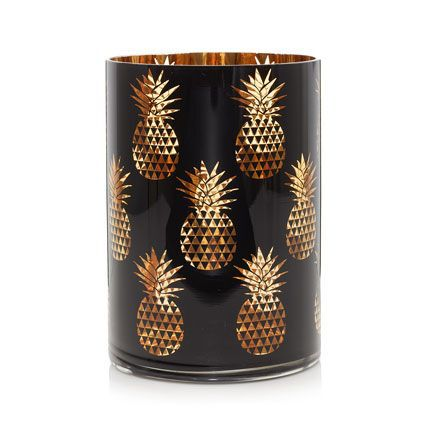 pineapple jar candle holder