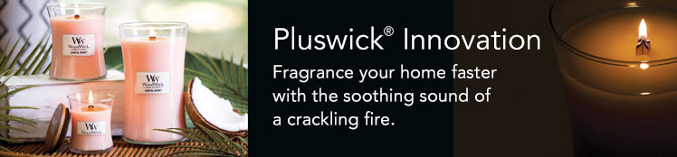 WoodWick Pluswick Candles