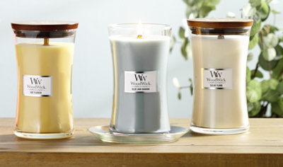 Large Hourglass Candles