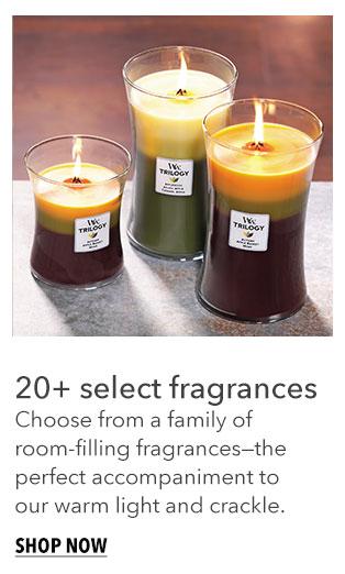 Shop Trilogy Candles