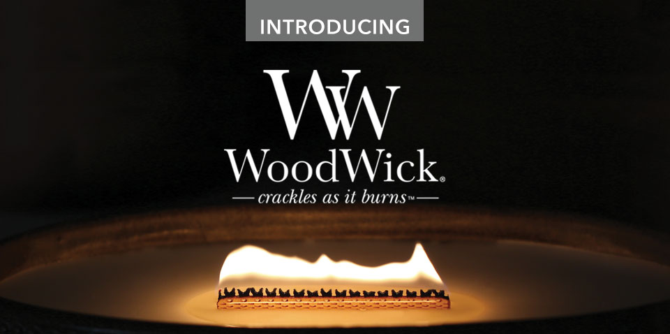 Introducing WoodWick Candles