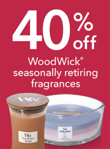 40% Off Retiring WoodWick Fragrances
