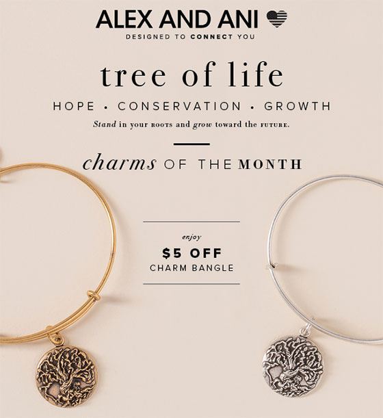 Alex and Ani Charm of the Month - September 2016