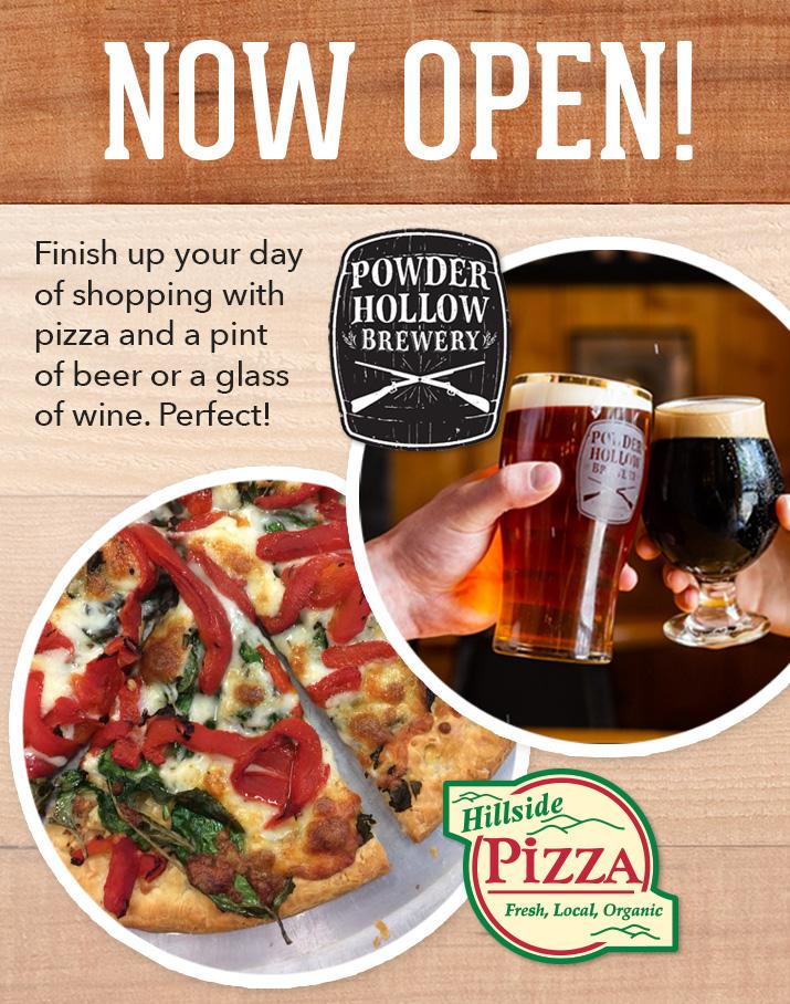 Powder Hollow Brewery and Hillside Pizza Café