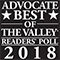 Valley Advocate's 2018 - Best tourist spot in the Valley