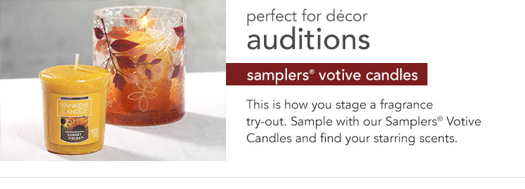 Votive Candles: Perfect for trying out and discovering new fragrances.