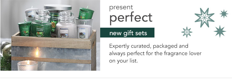 Present perfect. New Gift Sets. Expertly curated, packaged and always perfect for the fragrance lover on your list.
