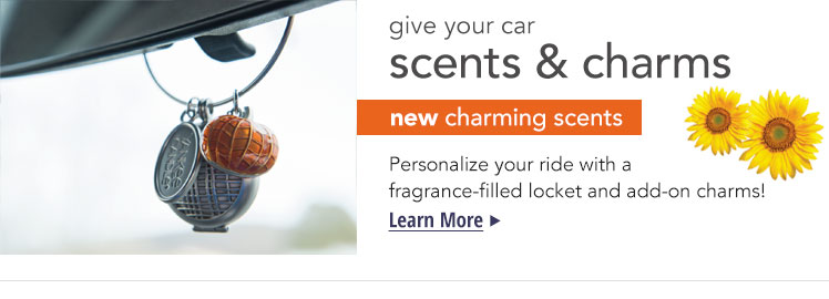 Charming Scents: Flameless fragrance cartridges that can be personalized with matching charms.