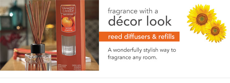 Reed Diffusers: Reeds and scented liquid that fill a room with fragrance.