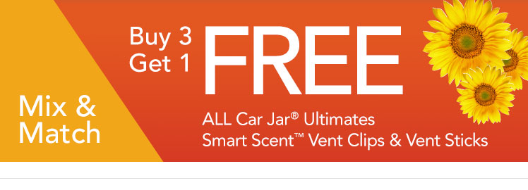 Shop Buy 3, Get 1 Free Select Car Air Fresheners