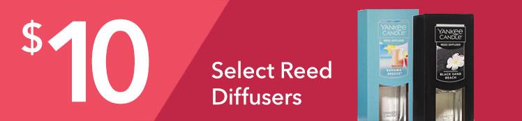 Semi-Annual Sale: $10 Select Reed Diffusers