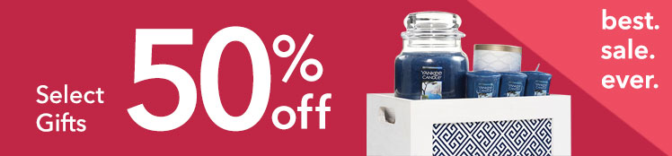 Semi-Annual Sale: 50% Off Select Gifts and Gift Sets