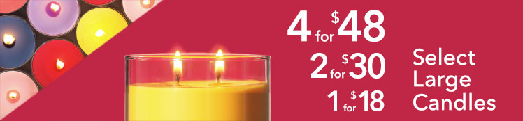 Large Candles: Buy More, Save More