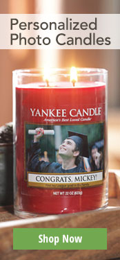 Buy a Personalized Photo Candle Now