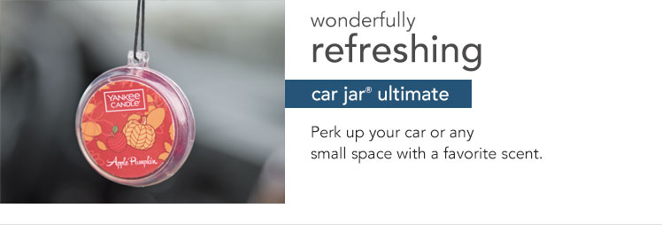 Car Jar Ultimate - Bring your favorite scent on the road with you to freshen your commute.