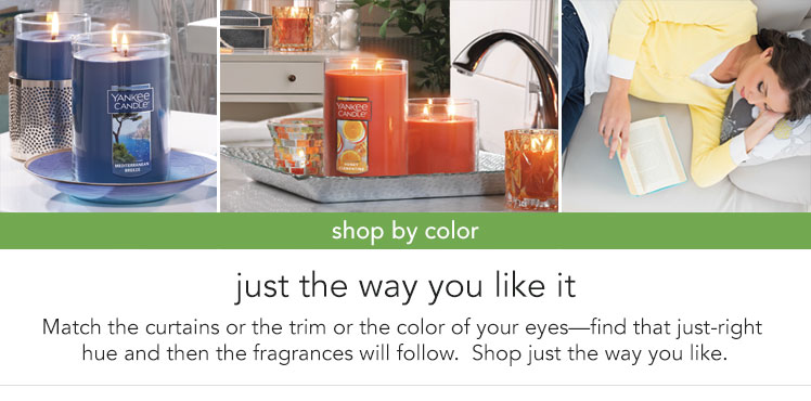 Shop our Candles by Color