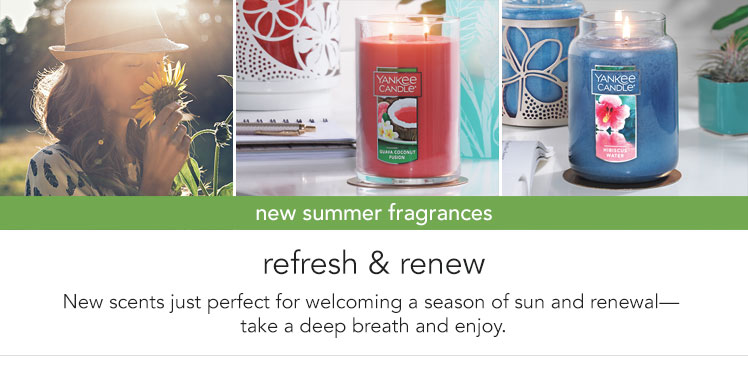 New Arrivals - New Summer Fragrances