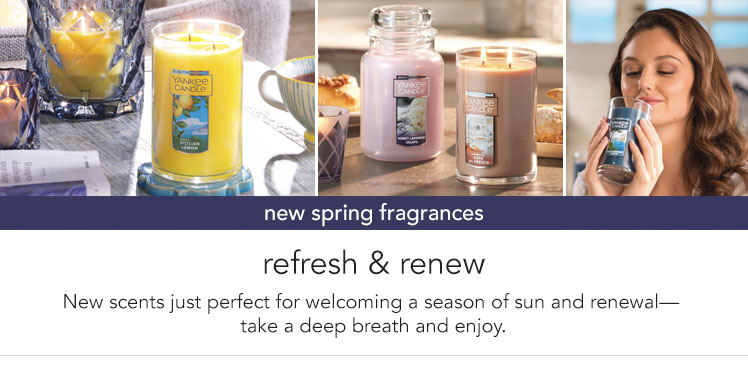 New Arrivals - New Spring Fragrances