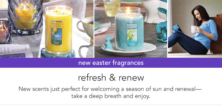 New Arrivals - Easter Collection - Candles