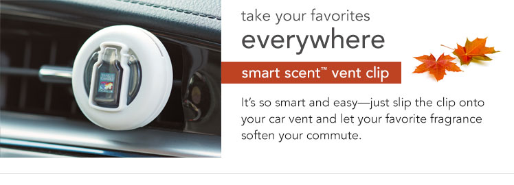 Smart Scent Vent Clips