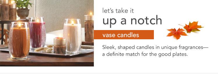 Vase Candles