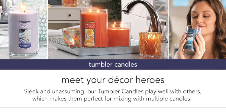 Tumbler Candles