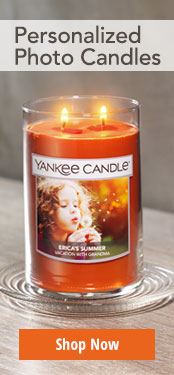 Order a Personalized Photo Candle