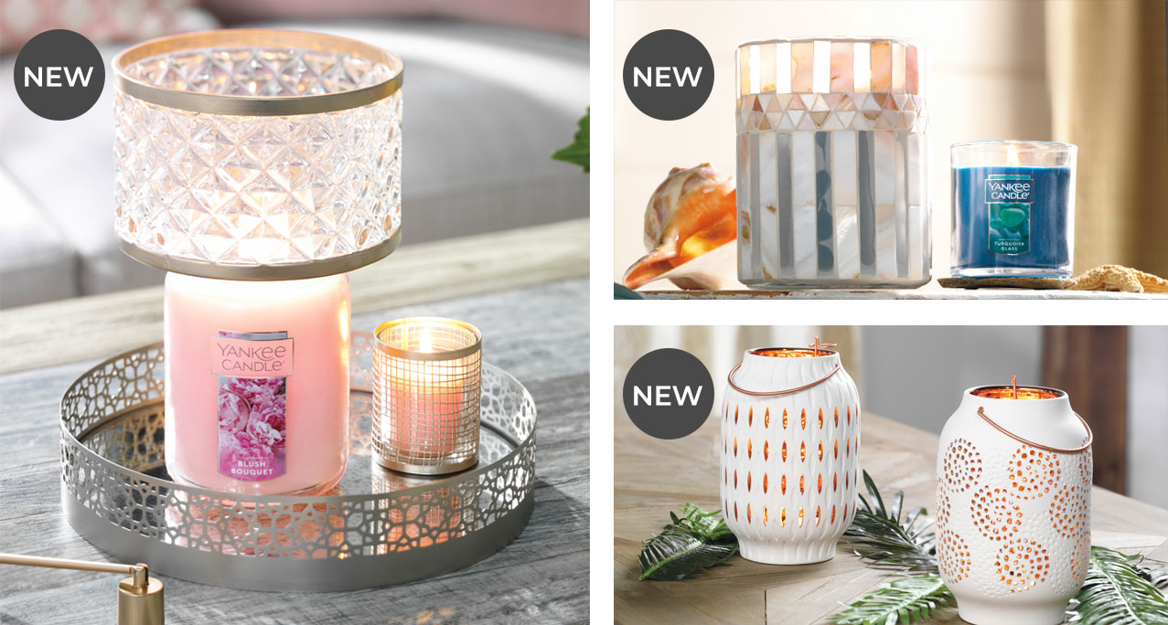 New Spring Candle Accessory Collections