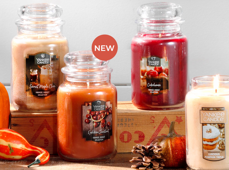 Jar Candles - Yankee Candle
