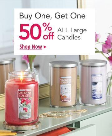 Buy 1, Get 1 50% Off - All Large Jars & Large Tumblers