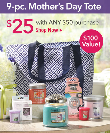Mother's Day Gift Tote - only $25 with a $50 purchase. $100 value.