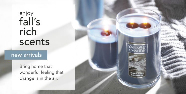 New Arrivals: Wonderful ways to remake your home with new candles and accessories.