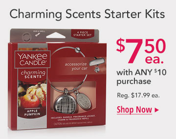 Select Charming Scents Starter Kits: Only $7.50 with $10 purchase