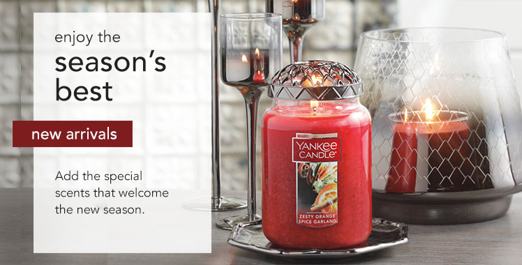 New Arrivals: Add teh special scents that welcome the new season.