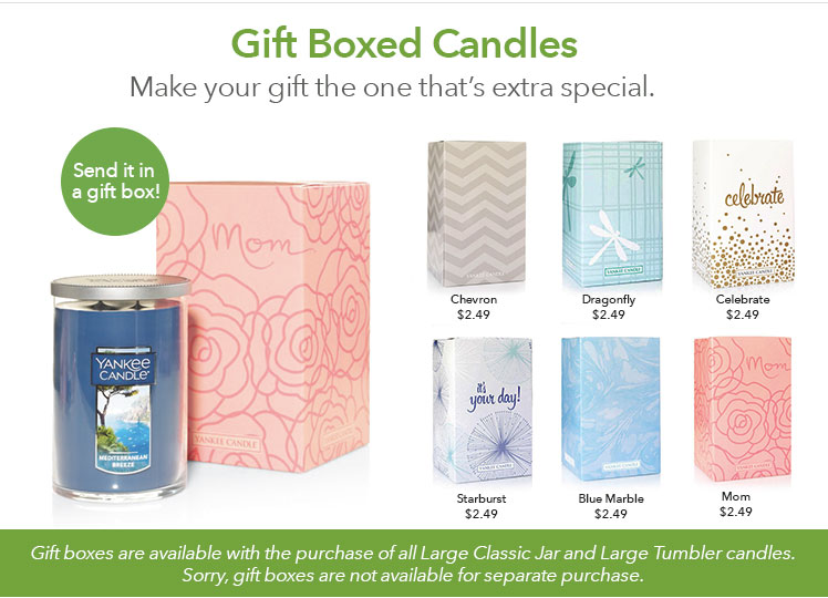 Gift Boxing Large Candles