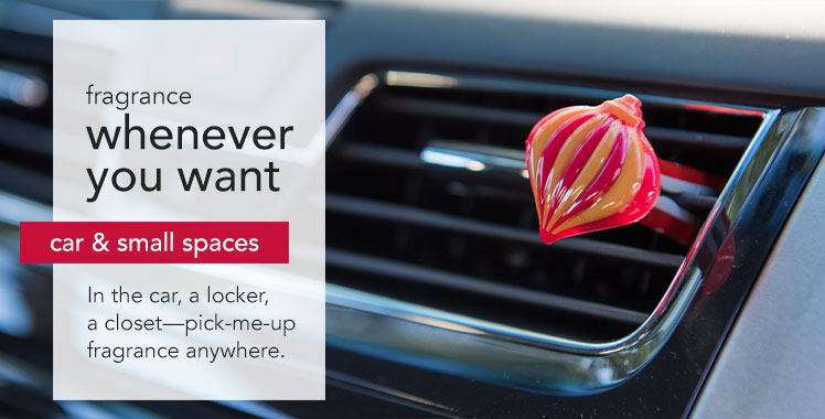 Yankee Candles - car air fresheners and fragrances for small spaces