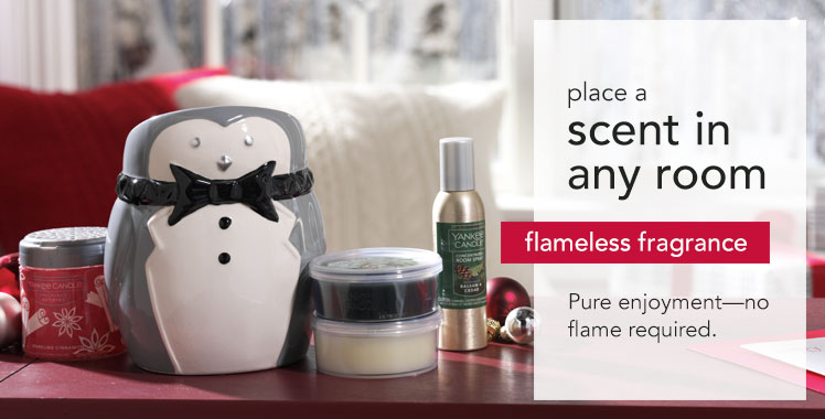 Yankee Candles - wax warmers and wax melts for flameless fragrance