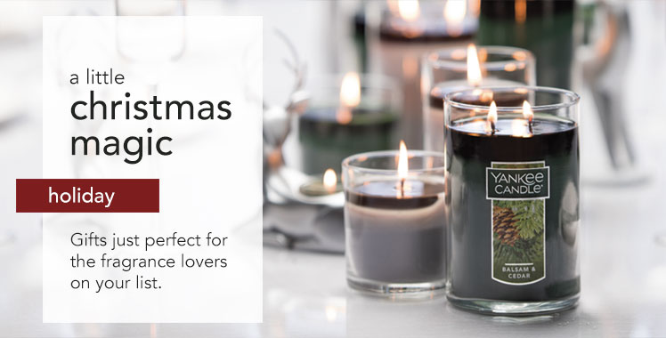 Holiday: A little Christmas magic. Gifts just perfect for the fragrance lovers on your list.