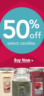 50% Off Candles