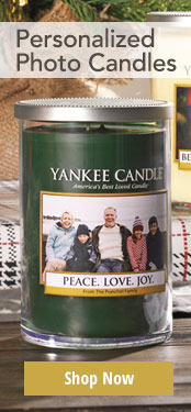 Personalized Photo Candles