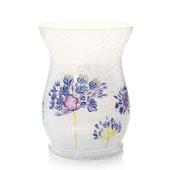 Midnight Floral Jar Holder