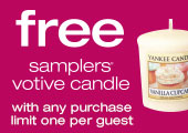 FREE Votive Candle