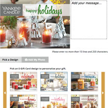 Personalized E-Gift Cards