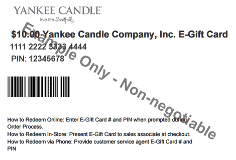 Ordering Information | Yankee Candle