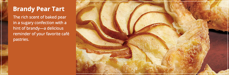 brandied sour cherry and pear tartlets recipes dishmaps brandied pears ...