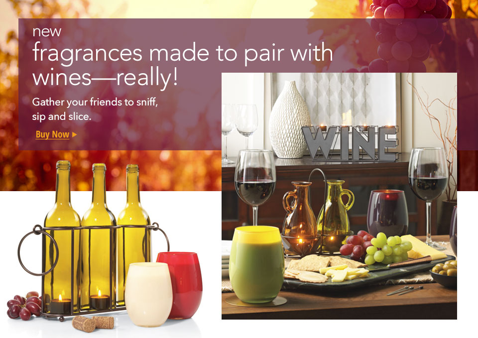 New Wine Pairing Fragrances