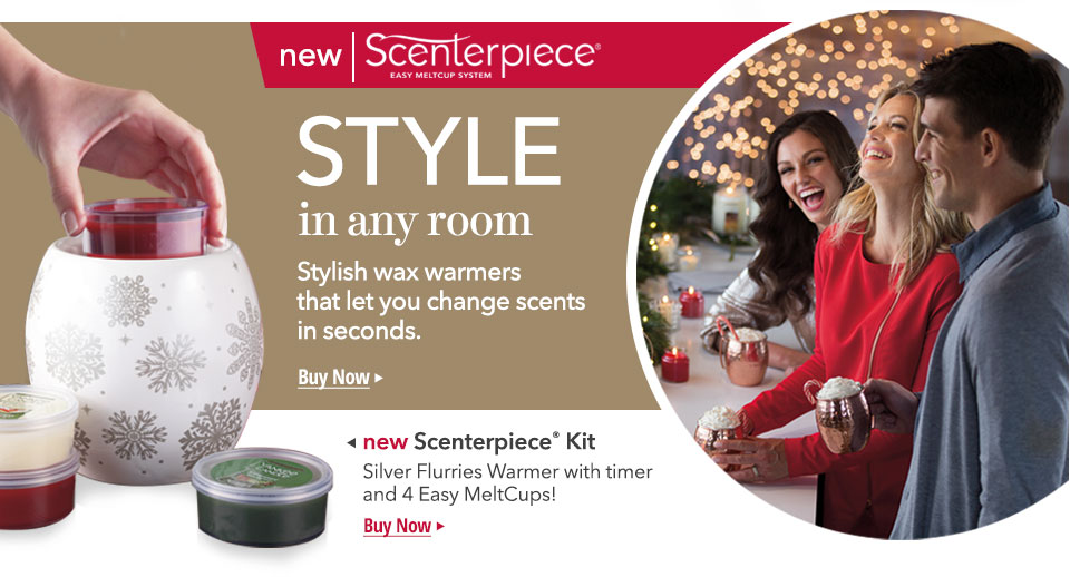 Scenterpiece System: Change scents in seconds!