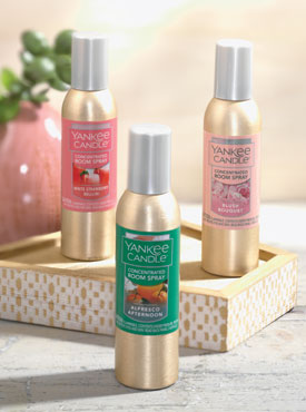 Room Sprays in Spring Fragrances