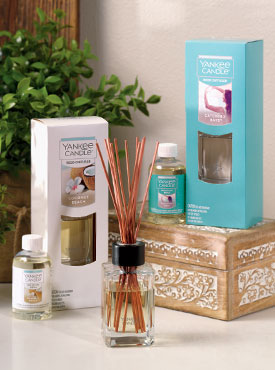 Reed Diffusers in Spring Fragrances